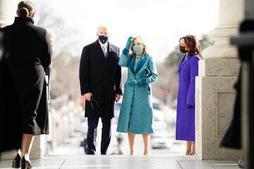 Joe i Jill Biden oraz Kamala Harris