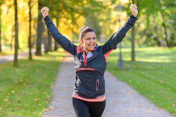 Jogging, zdjęcie ilustracyjne