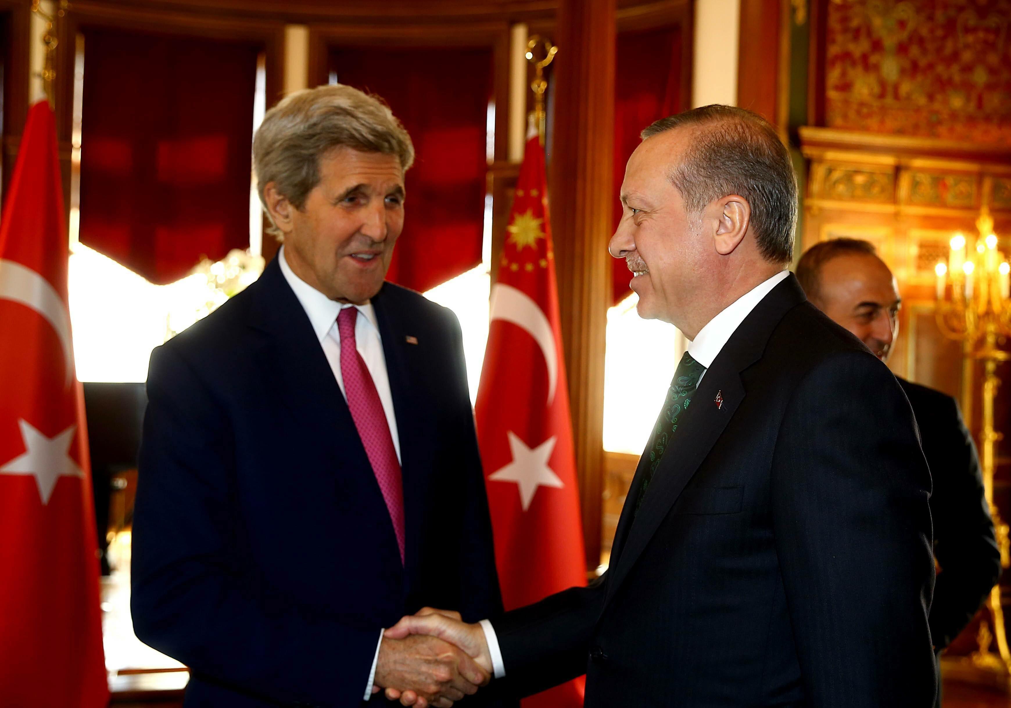 John Kerry i Recep Tayyip Erdogan