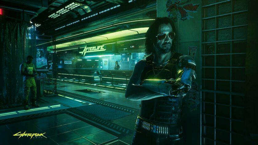 Johnny Silverhand, bohater gry Cyberpunk 2077