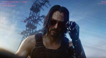 Johnny Silverhand, czyli Keanu Reeves w grze Cyberpunk 2077