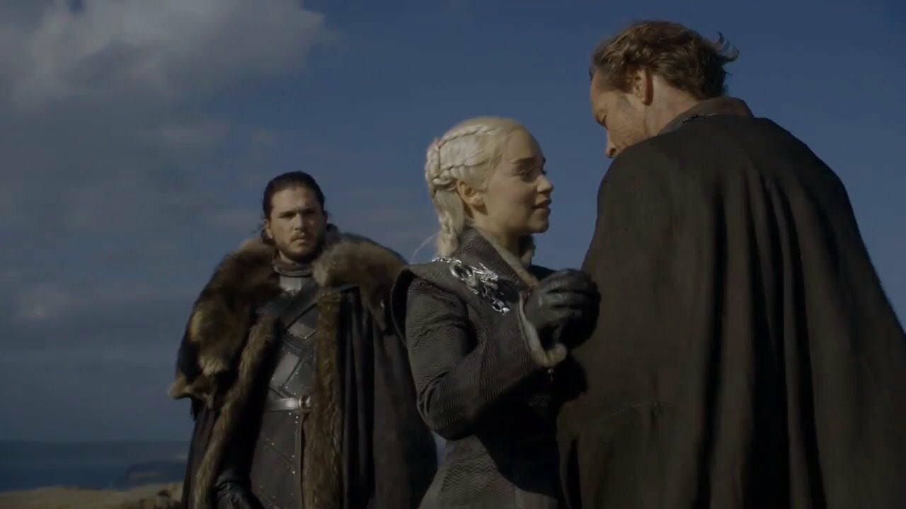 Jon Snow, Daenerys Targaryen i Jorah Tormund