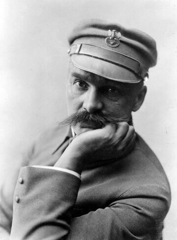 Józef Piłsudski w czasie służby w Legionach, ok. 1916 roku