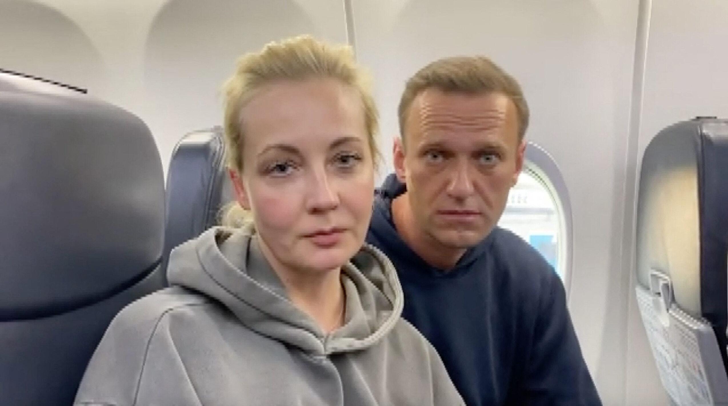 Julia i Aleksiej Nawalni