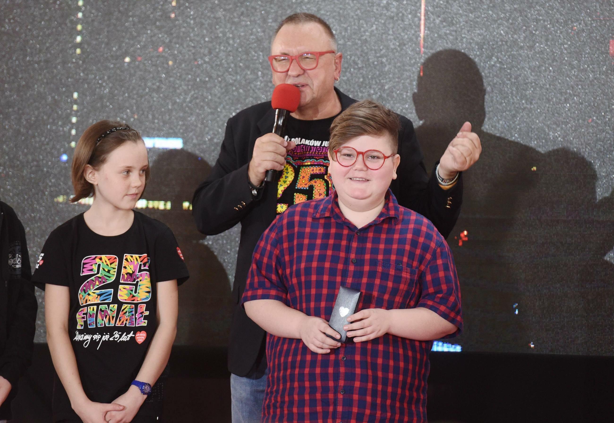 Jurek Owsiak i Łukasz Berezak