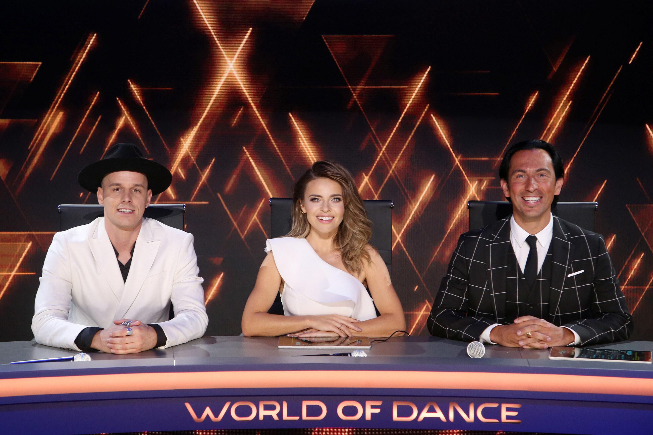 "Jury programu ""World of Dance"""