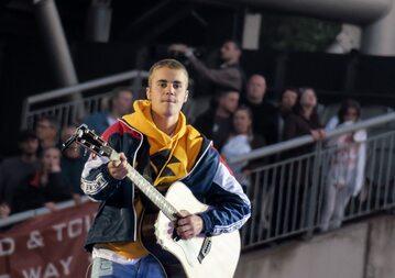 Justin Bieber podczas koncertu One Love Manchester