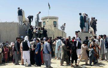 Kabul. Afgańczycy próbujący uciec przed talibami