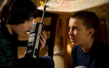 """Kadr z 1. sezonu serialu """"Stranger Things"""""""