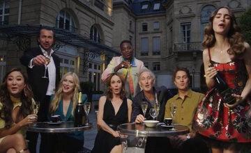 """Kadr z 2. sezonu serialu """"Emily w Paryżu"""""""