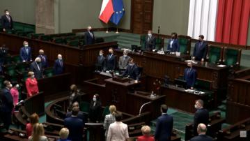 Kadr z 28. posiedzenia Sejmu
