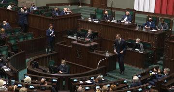 Kadr z 36. posiedzenia Sejmu