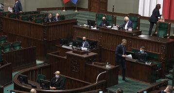 Kadr z 37. posiedzenia Sejmu