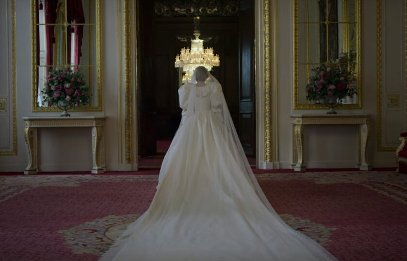 "Kadr z 4. sezonu serialu ""The Crown"""