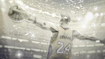 """Kadr z animacji """"Dear Basketball"""""""