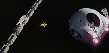 """Kadr z filmu """"2001: Odyseja kosmiczna"""" (1968)"""