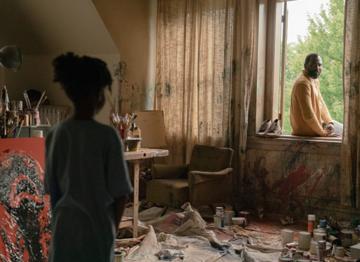 "Kadr z filmu ""Candyman"" (2021)"