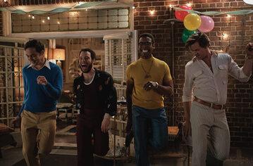 """Kadr z filmu """"Chłopcy z paczki"""""""