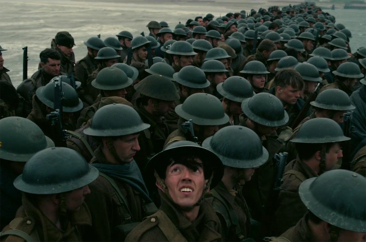 """kadr z filmu """"Dunkierka"""" (2017)"""