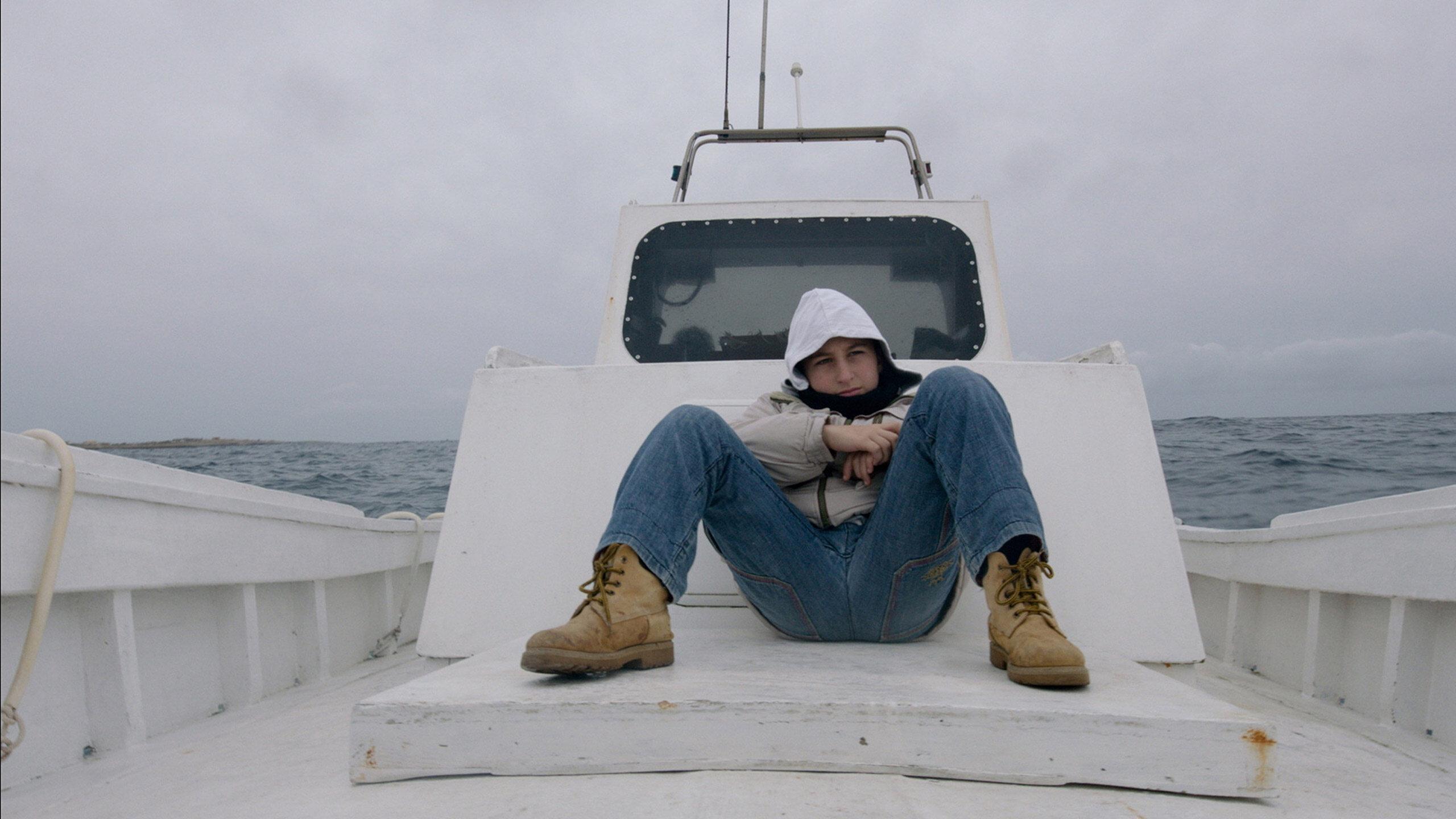 "Kadr z filmu ""Fuocoammare. Ogień na morzu"" (2016)"