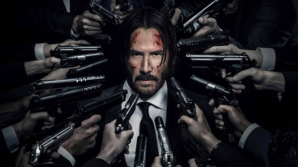 "Kadr z filmu ""John Wick 3"""