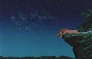 """Kadr z filmu """"Król Lew"""""""