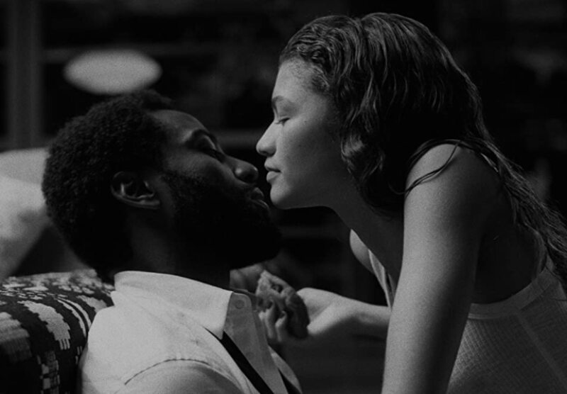 "Kadr z filmu ""Malcolm & Marie"""