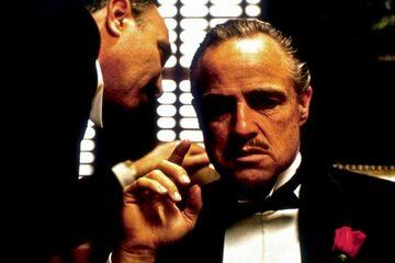 """Kadr z filmu """"Ojciec chrzestny"""" / """"The Godfather"""" (1972)"""