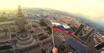 Kadr z filmu opublikowanego przez Rosjan