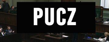 """Kadr z filmu """"Pucz"""""""