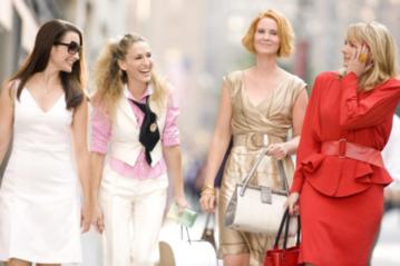 """Kadr z filmu """"Seks w wielkim mieście"""" (2008)"""