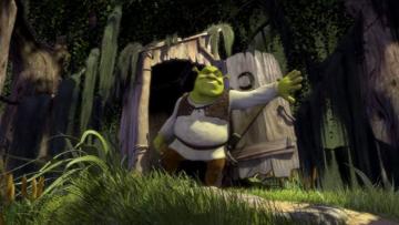 "Kadr z filmu ""Shrek"""