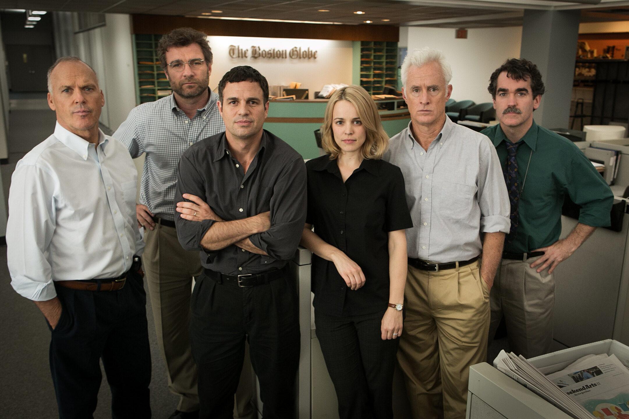 """Kadr z filmu """"Spotlight"""" (2015)"""