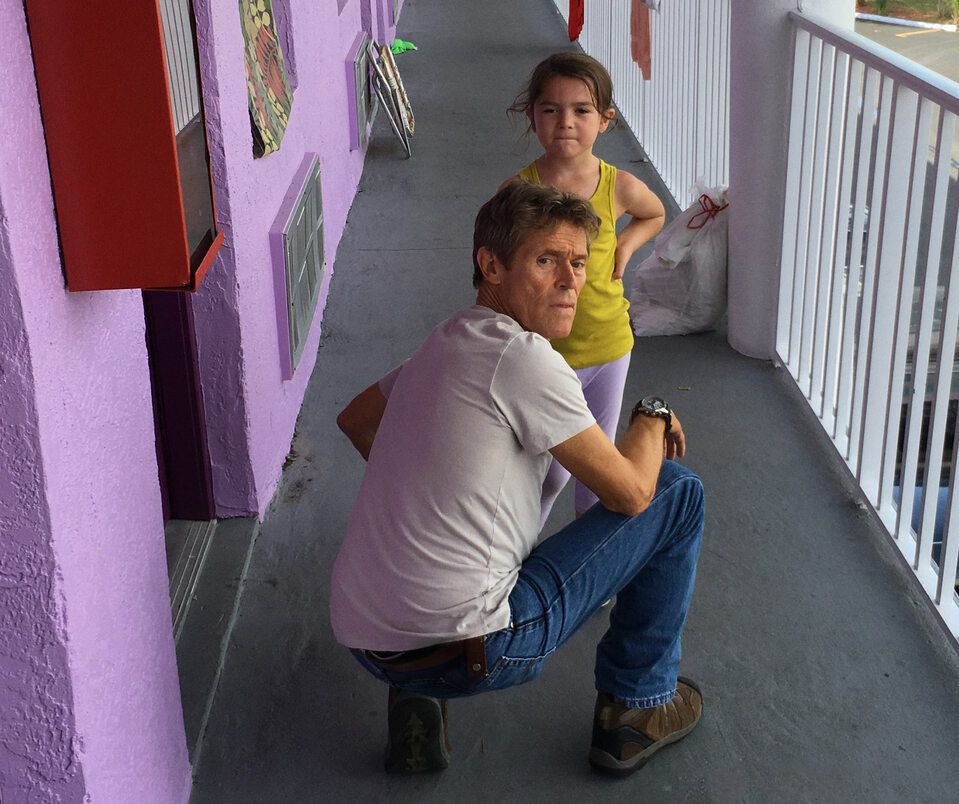 "kadr z filmu ""The Florida Project"" (2017)"