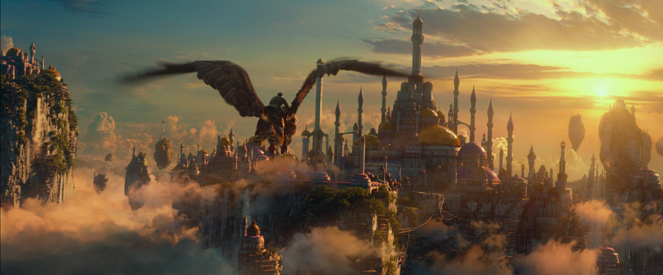 """kadr z filmu """"Warcraft: Początek"""" (2016)"""