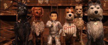 """Kadr z filmu """"Wyspa psów"""""""