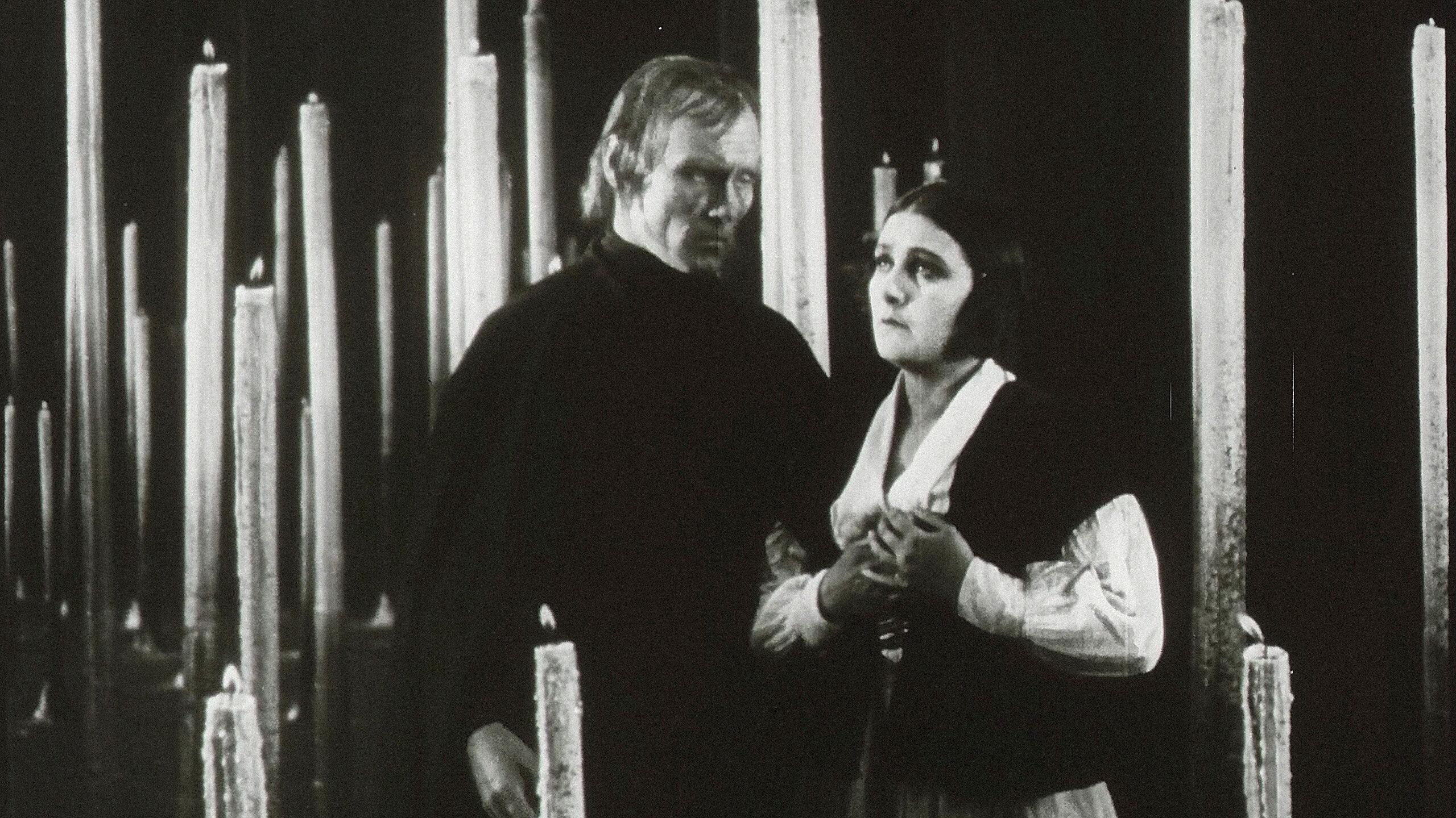 """Kadr z filmu """"Zmęczona śmierć"""" / """"Der müde Tod"""" (1921)"""