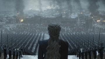 """Kadr z finałowego odcinka """"Gry o tron"""""""