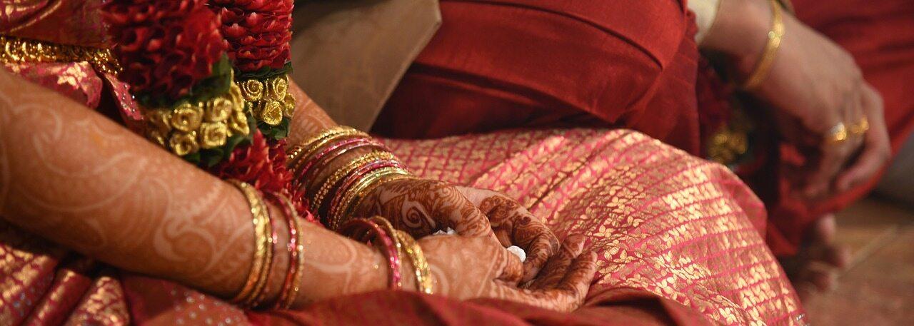 Kadr z indyjskiego wesela