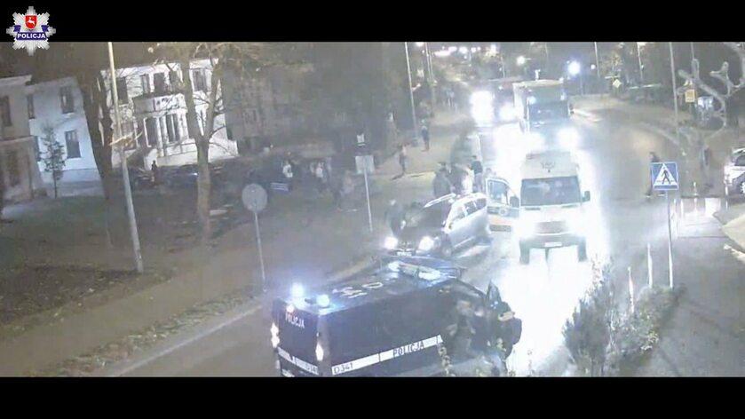 Kadr z kamery monitoringu
