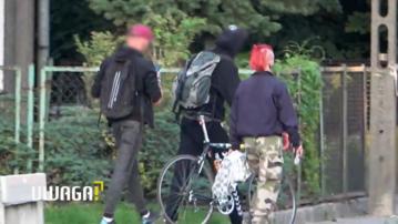 Kadr z materiału programu Uwaga! TVN