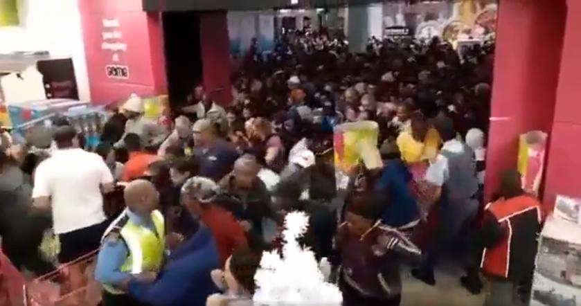 Kadr z nagrania z RPA