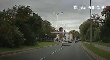 Kadr z nagrania
