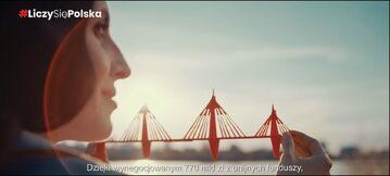 Kadr z nowego spotu PiS dotyczącego KPO