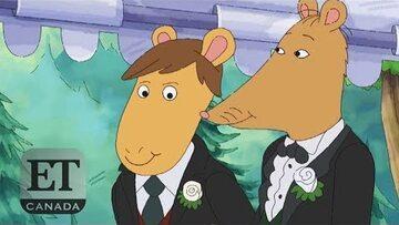 """Kadr z opisywanego odcinka bajki """"Artur"""""""