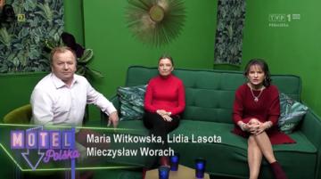"""Kadr z programu """"Motel Polska"""""""
