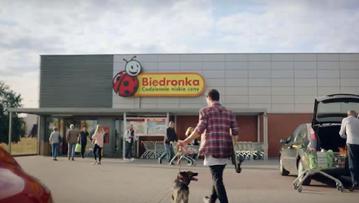 Kadr z reklamy Biedronki