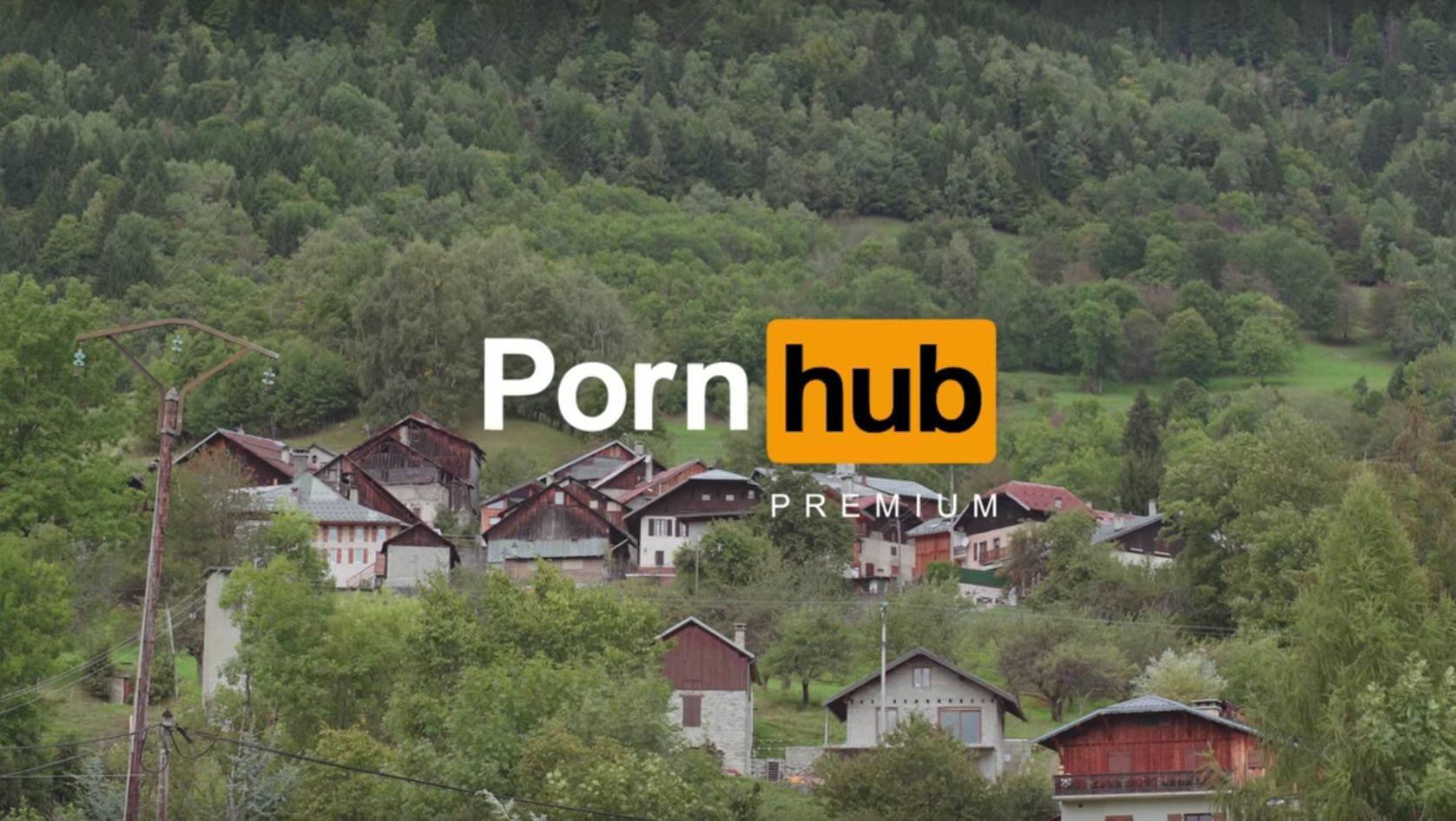 Kadr z reklamy Pornhuba