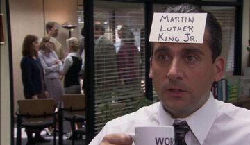 """Kadr z serialu """"Biuro""""/""""The Office"""""""