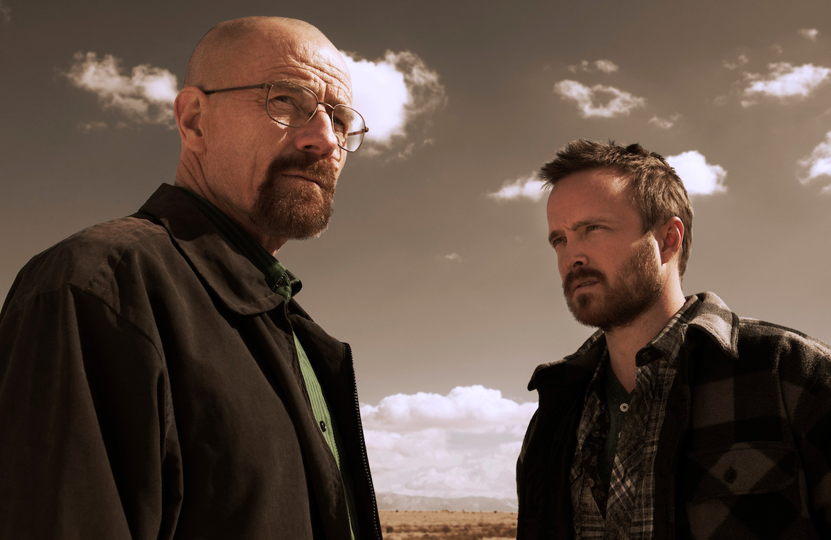"Kadr z serialu ""Breaking Bad"""